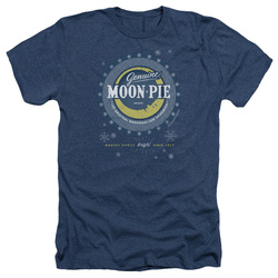 Image for Moon Pie Heather T-Shirt - Snowing Moon Pies