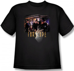 Image for Farscape Cast Youth T-Shirt