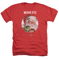 Image for Moon Pie Heather T-Shirt - Snacks for Santa