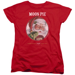 Image for Moon Pie Womans T-Shirt - Snacks for Santa
