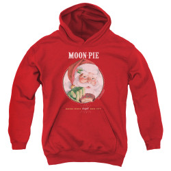 Image for Moon Pie Youth Hoodie - Snacks for Santa