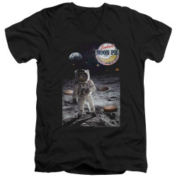 Image for Moon Pie V Neck T-Shirt - the Truth