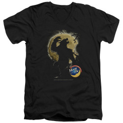 Image for Moon Pie V Neck T-Shirt - Howling Moon Pies
