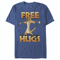 Image for The Lion King Timon Free Hugs T-Shirt