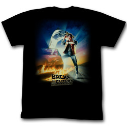 Image for Back to the Future T-Shirt - Original Poster