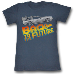 Image for Back to the Future Girls T-Shirt - 8 Bit to the Future