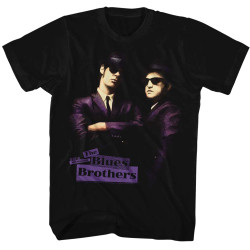 Image for The Blues Brothers T-Shirt - Purple Tones