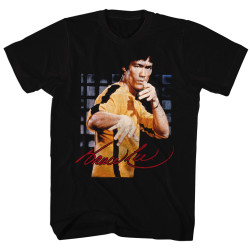 Image for Bruce Lee Jumpsuit Stance T-Shirt