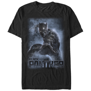 Image for Marvel Civil War Black Panther Smoke T-Shirt