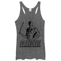 Image for Daredevil Womens Tank Top - Outline