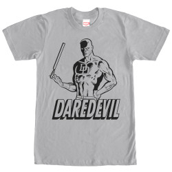Image for Daredevil Outline Premium T-Shirt