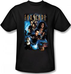 Image Closeup for Farscape Comic Cover T-Shirt