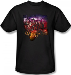 Image Closeup for Farscape Graphic Collage T-Shirt