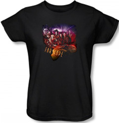 Image for Farscape Graphic Collage Woman's T-Shirt
