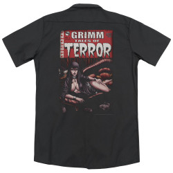 Image for Zenescope Dickies Work Shirt - Terror Cover