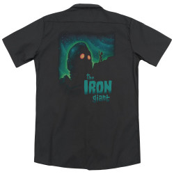 Image for Iron Giant Dickies Work Shirt - Look to the Stars