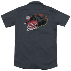 Image for Iron Giant Dickies Work Shirt - Outer Space
