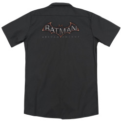 Image for Arkham Knight Dickies Work Shirt - Logo