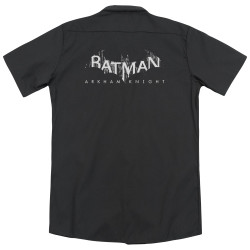 Image for Arkham Knight Dickies Work Shirt - Splinter Logo