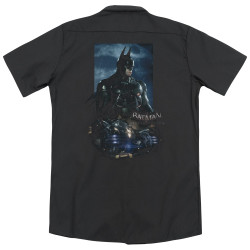 Image for Arkham Knight Dickies Work Shirt - Batmobile