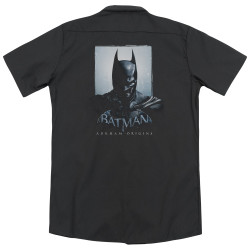 Image for Batman Arkham Origins Dickies Work Shirt - Two Sides