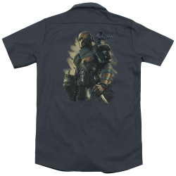 Image for Batman Arkham Origins Dickies Work Shirt - Deathstroke