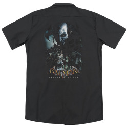 Image for Batman Arkham Asylum Dickies Work Shirt - Five Against One
