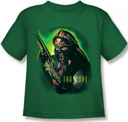 Image for Farscape D'Argo Warrior Kid's T-Shirt