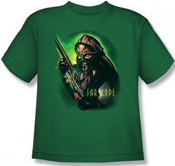 Image for Farscape D'Argo Warrior Youth T-Shirt