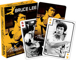 Image for Bruce Lee Photos Playing Cards