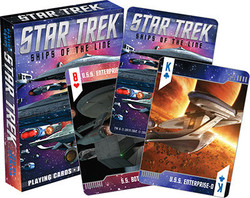 Image for Star Trek Starfleet Ships of the Line Playing Cards