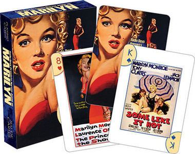 Image for Marilyn Monroe One Sheets Playing Cards