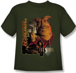 Image for Farscape Rygel Kid's T-Shirt