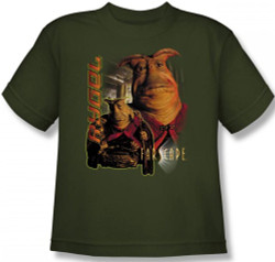 Image for Farscape Rygel Youth T-Shirt