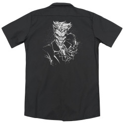 Image for Batman Dickies Work Shirt - Joker's Splatter Smile