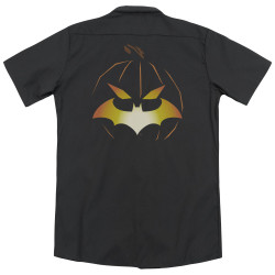 Image for Batman Dickies Work Shirt - Jack O'Bat