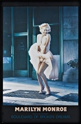 Image for Marilyn Monroe Poster - Boulevard of Broken Dreams
