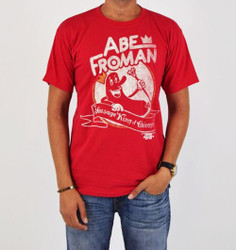 Image for Ferris Bueller Abe Froman Sausage King of Chicago T-Shirt
