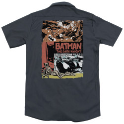 Image for Batman Dickies Work Shirt - Old Movie Poster