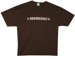 Image Closeup for Firefly T-Shirt - Browncoat