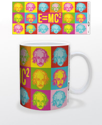 Image for Albert Einstein Pop Art Coffee Mug