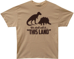 "Image Closeup for Firefly T-Shirt - We Shall Call it ""This Land"""