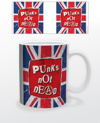 Image for Punk's Not Dead Union Jack Coffee Mug