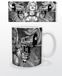 Image for James Danger Double Guns Coffee Mug