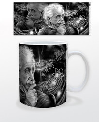 Image for James Danger Quasar Grey Coffee Mug