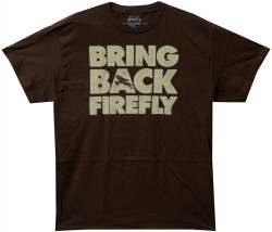 Image Closeup for Firefly T-Shirt - Bring Back Firefly