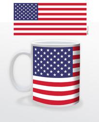 Image for American Flag Coffee Mug