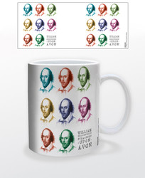 Image for William Shakespeare Pop Art Coffee Mug
