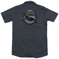 Image for Battlestar Galactica Dickies Work Shirt - Viper Squadron