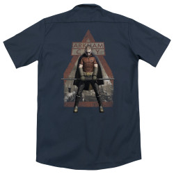 Image for Batman Arkham City Dickies Work Shirt - Arkham Robin